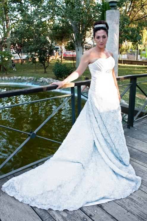 ¡Pedazo de novia...