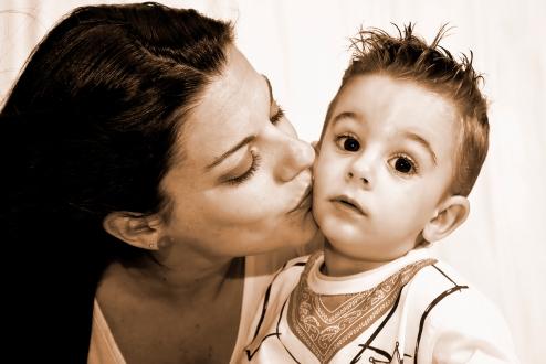 Beso de mami